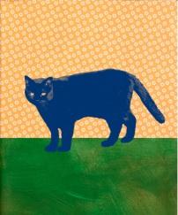 Gatto blu di Raffaella