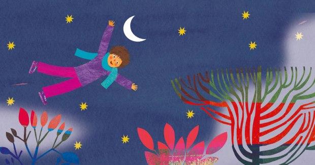 Bozzetto per un progetto Mondadori con Samantha Cristoforetti, l'astronauta italiana
