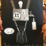 Collage fatto al Festival del Disegno Fabriano, settembre 2019